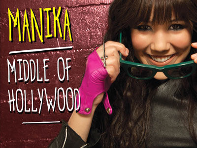 Manika's new EP The Middle of Hollywood